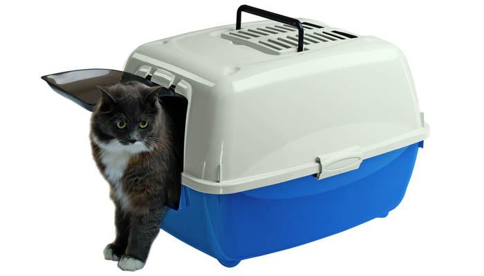 Туалета для кошки - домик